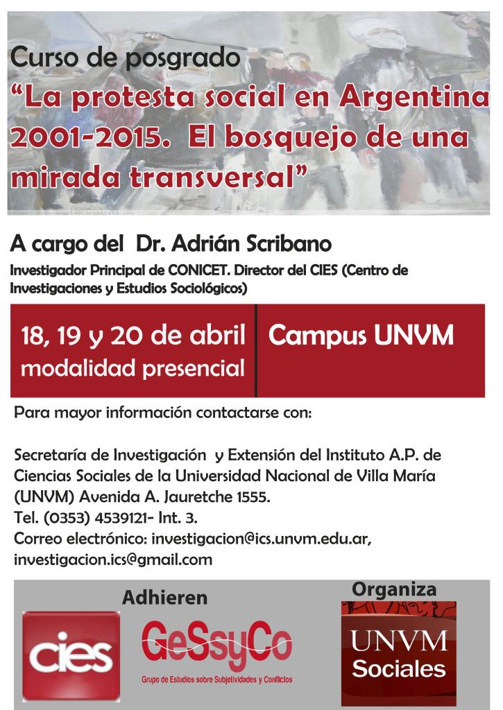 afiche_curso_ scribano_protesta